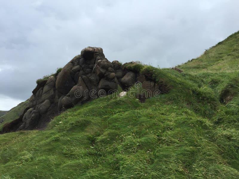 岩石的露出 库存图片
