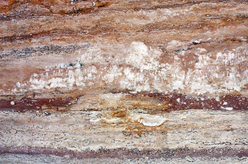 岩石石头,花岗岩大理石石灰华纹理 免版税库存图片