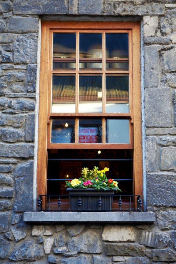 岩石窗台 免版税图库摄影