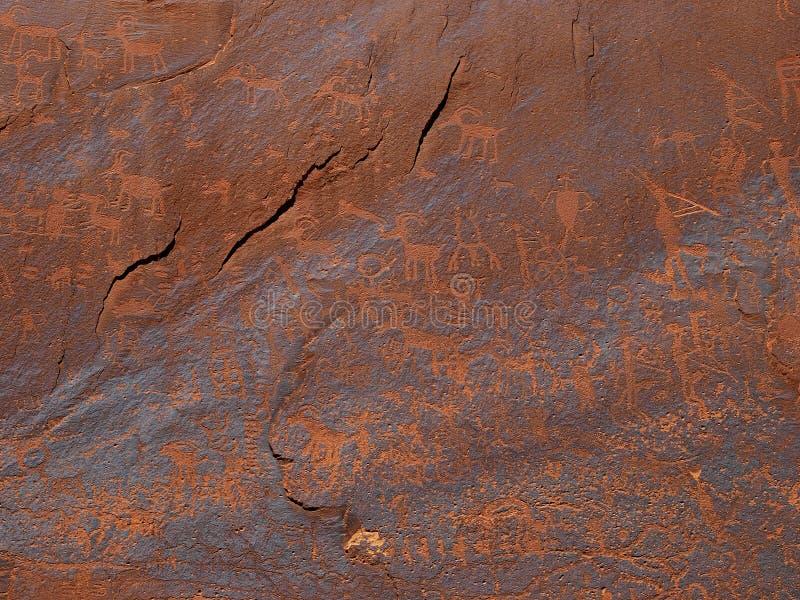 岩石艺术 库存图片