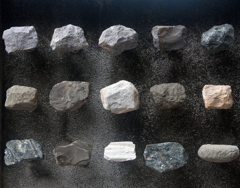 岩石范例 库存图片