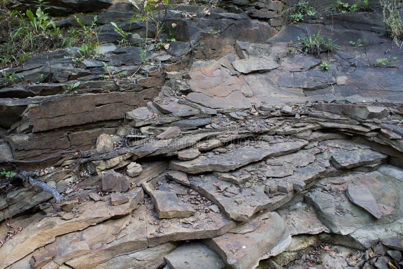 岩石页岩 免版税库存照片
