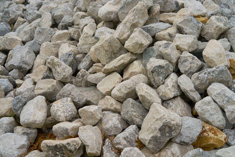 岩石,建筑的石头的充分描述 库存照片