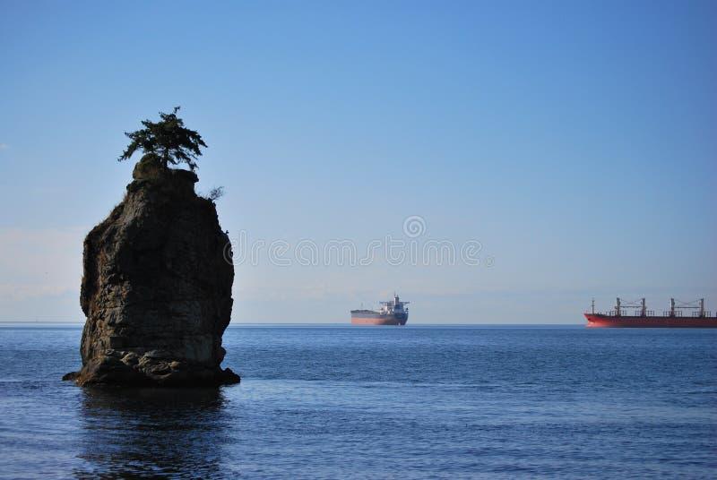 岩石siwash 图库摄影