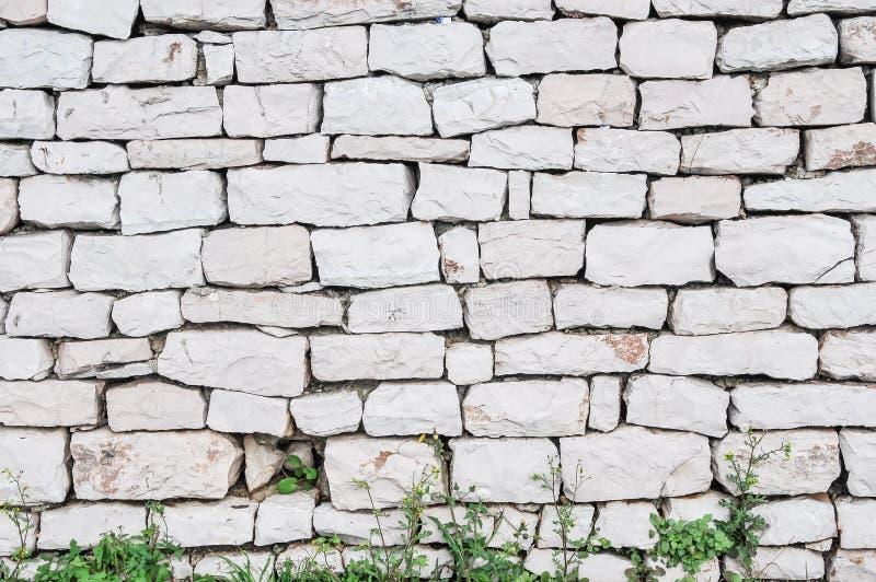 岩石weall 免版税库存图片