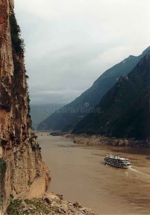 峡谷三 库存图片