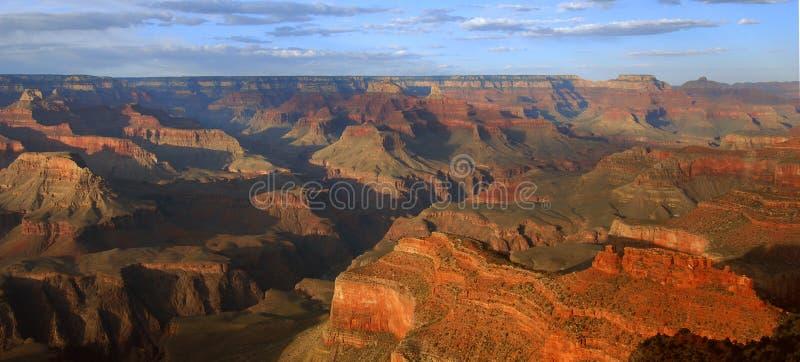 峡谷全部全景 免版税图库摄影