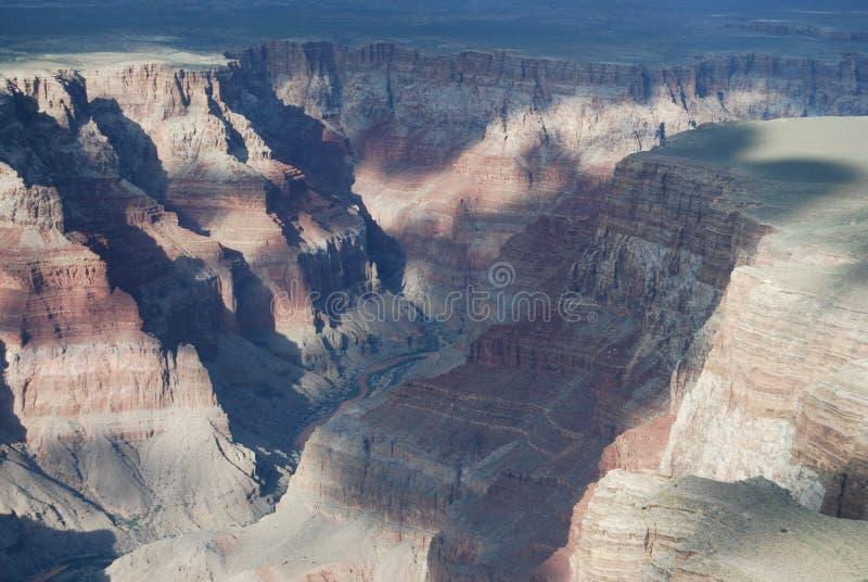 峡谷全部视图 库存照片