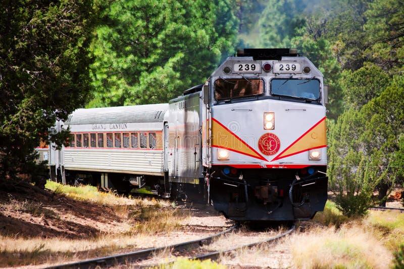 峡谷全部铁路 免版税库存照片