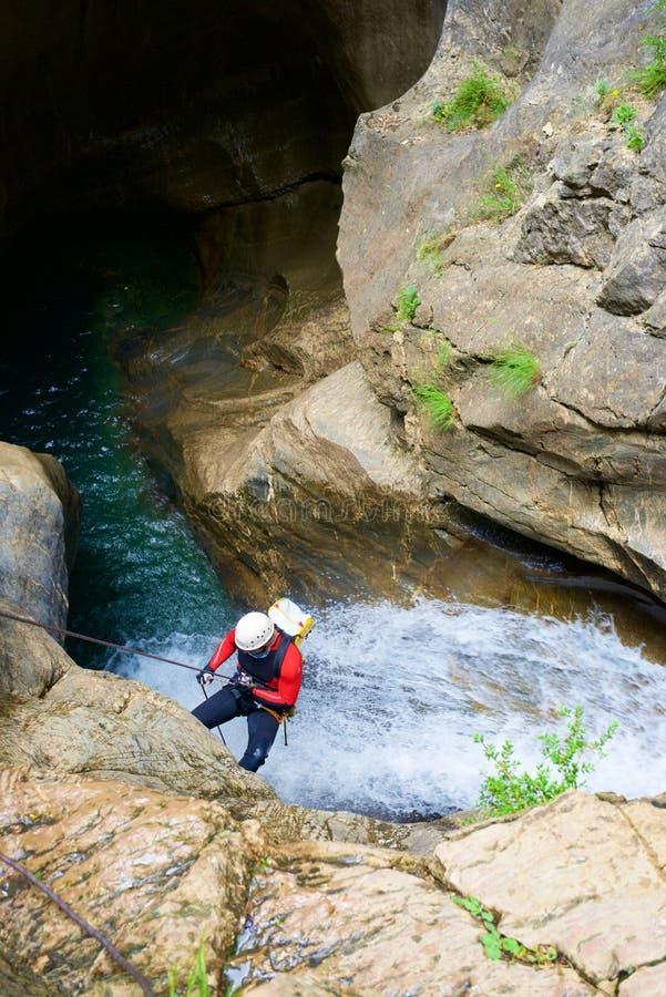 峡谷在西班牙 图库摄影