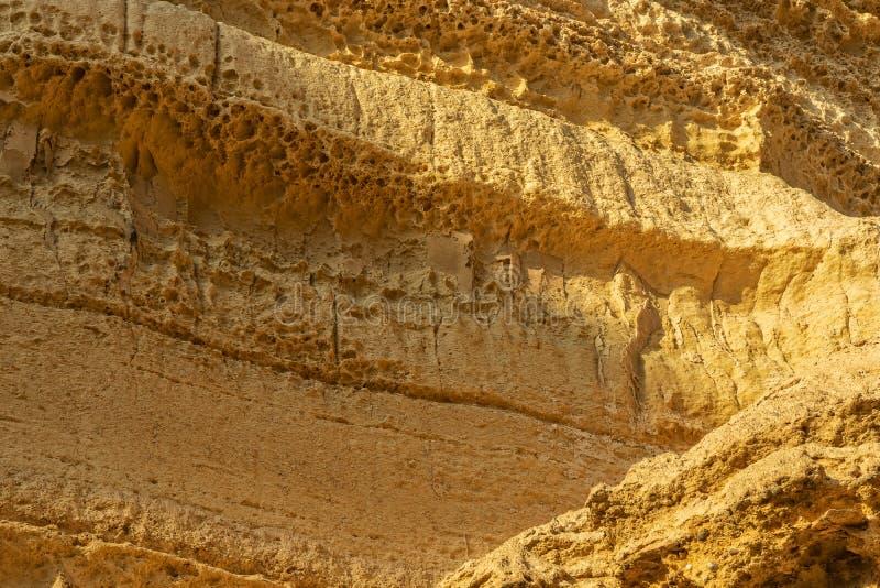 峡谷墙壁在纳米贝省沙漠 太阳 闹事 安格斯 库存照片