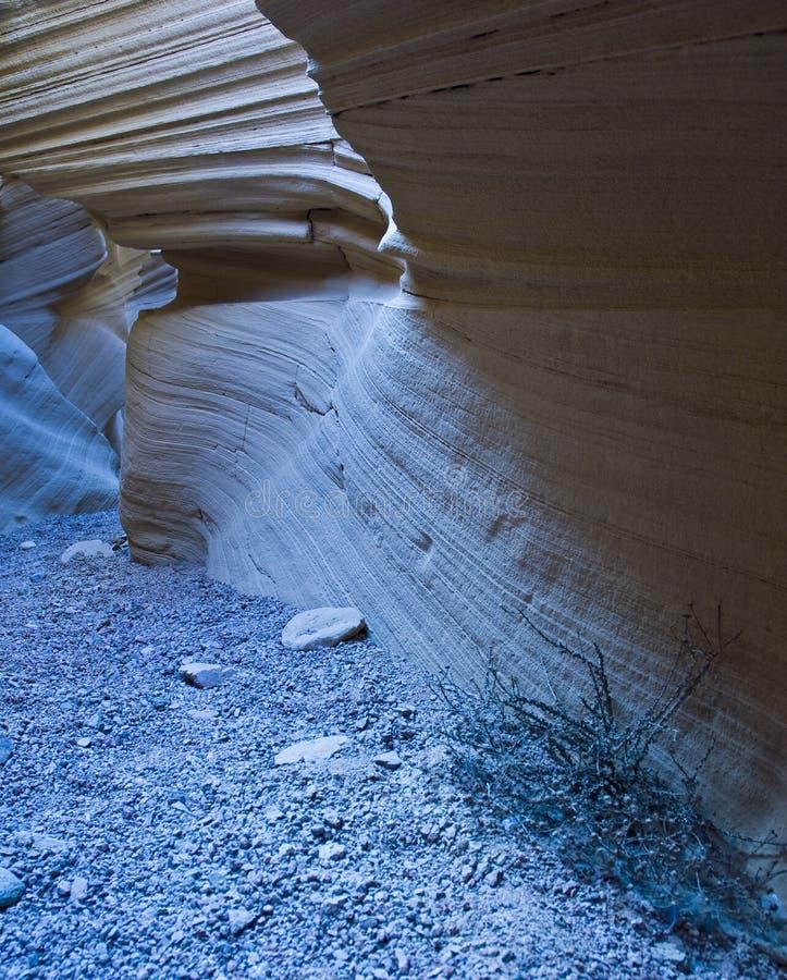 峡谷沙子 库存照片
