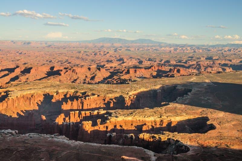 峡谷登陆国家公园 免版税库存照片