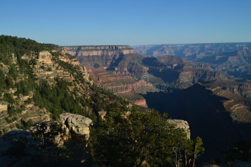 峡谷科罗拉多全部河 地质的形成 免版税库存照片
