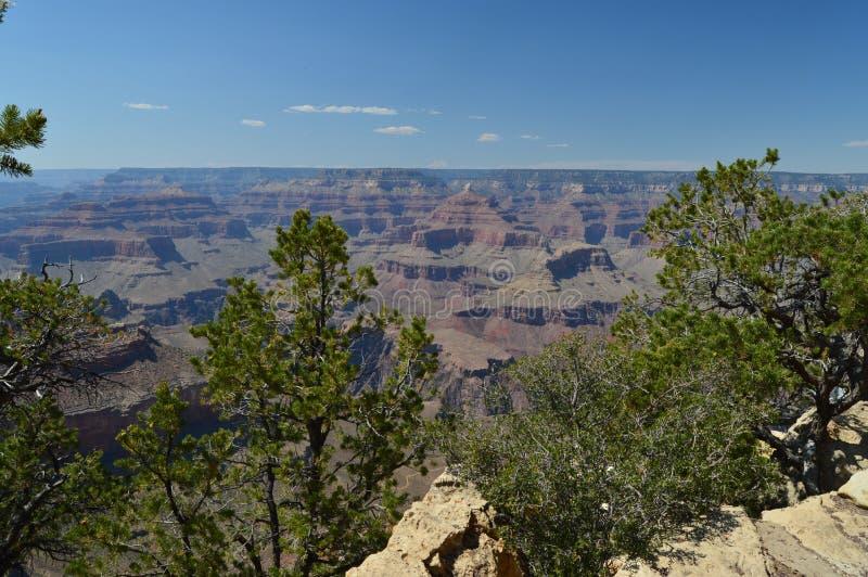 峡谷科罗拉多全部河 E 地质的形成 库存照片