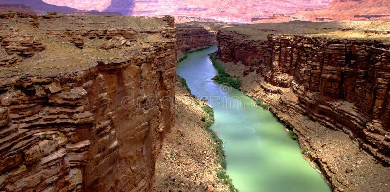 峡谷科罗拉多大理石河 免版税库存图片