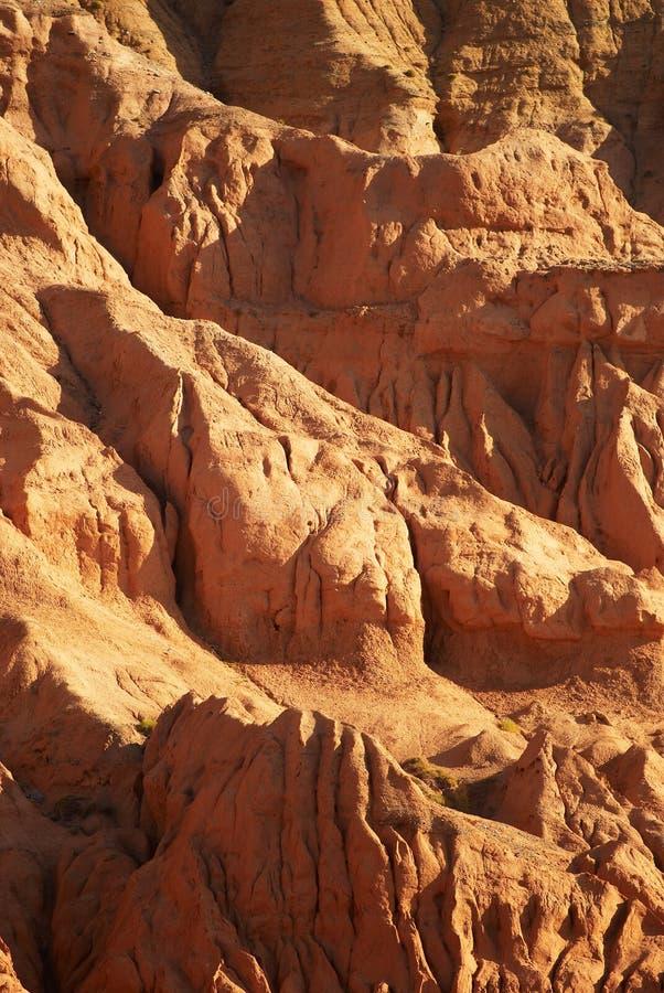 峡谷高明的墙壁 免版税库存图片