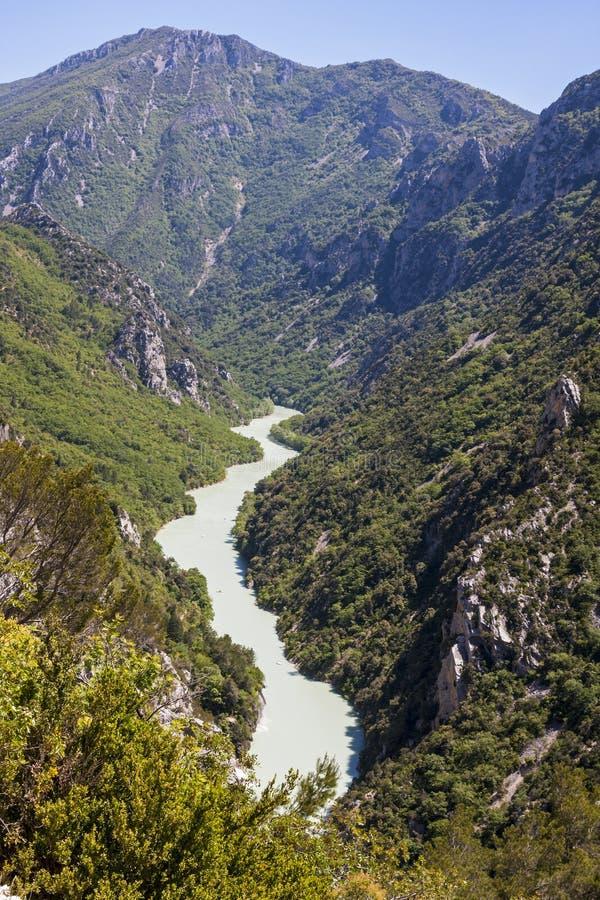 维登峡谷 库存照片
