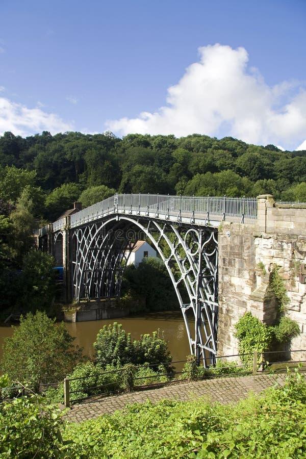 峡谷ironbridge 库存图片