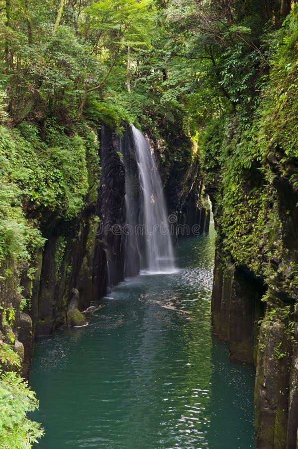 峡谷takachiho 库存照片
