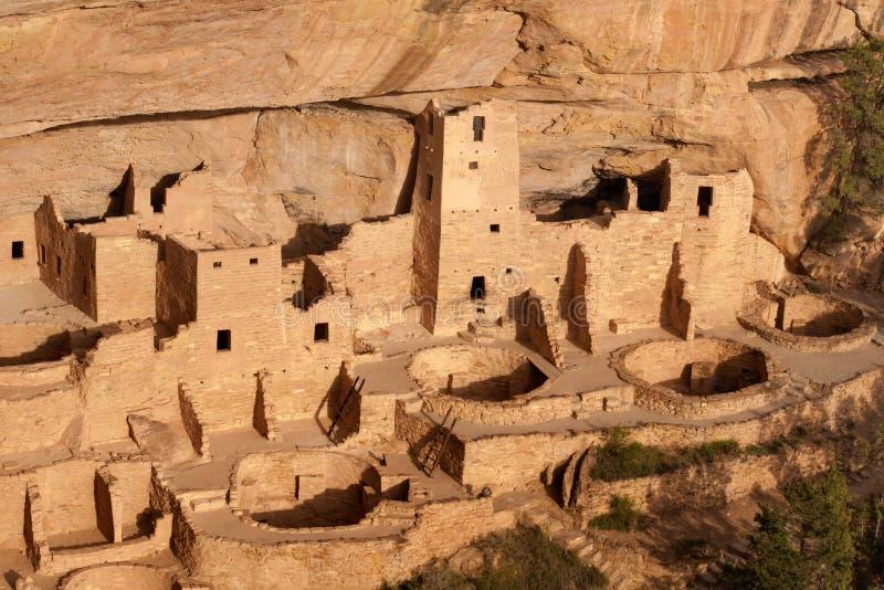 峭壁宫殿, Mesa Verde国家公园 库存图片