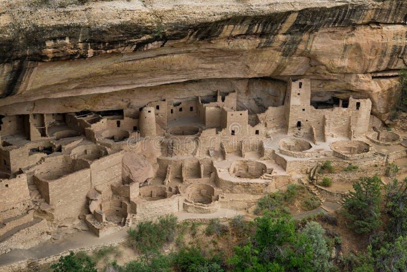 峭壁宫殿 库存图片