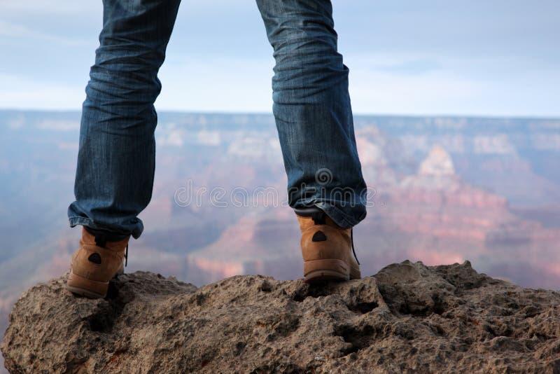 峭壁山常设顶层 免版税库存照片