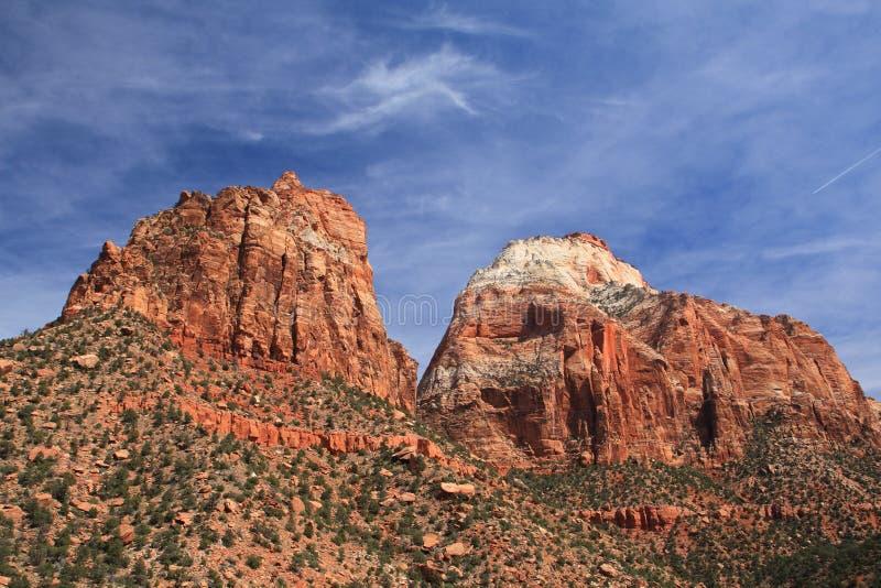 峭壁山 库存图片