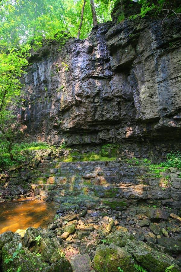 峭壁形成 免版税图库摄影