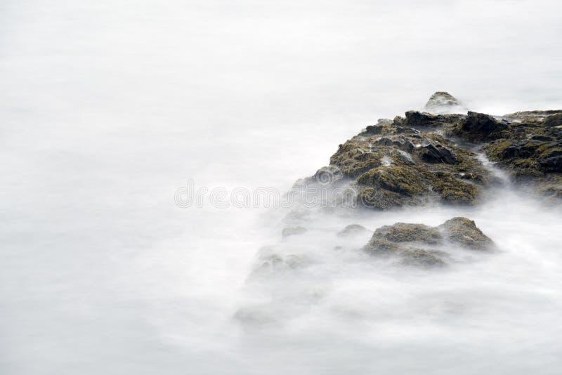峭壁步行在罗德岛州 图库摄影