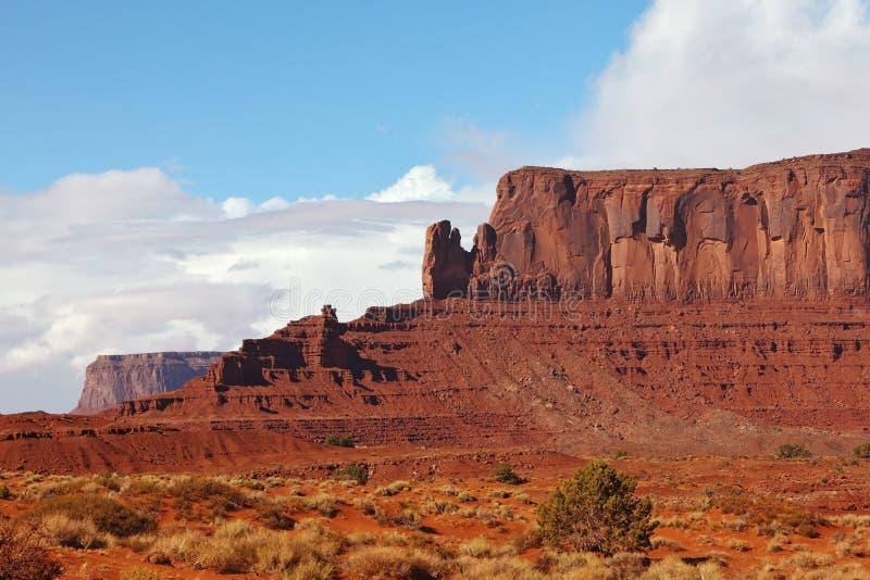 峭壁美丽如画的砂岩 免版税库存照片