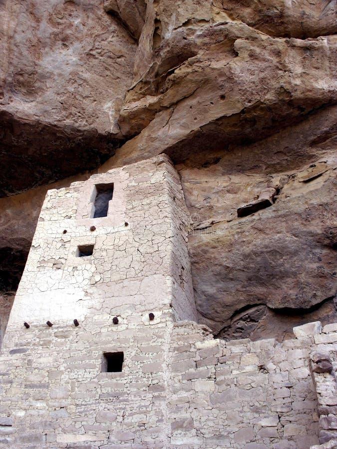 峭壁详述宫殿 免版税库存照片