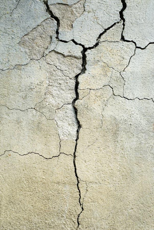 崩裂的混凝土 库存图片