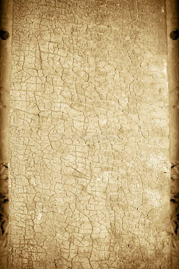 崩裂的背景褐色 库存图片
