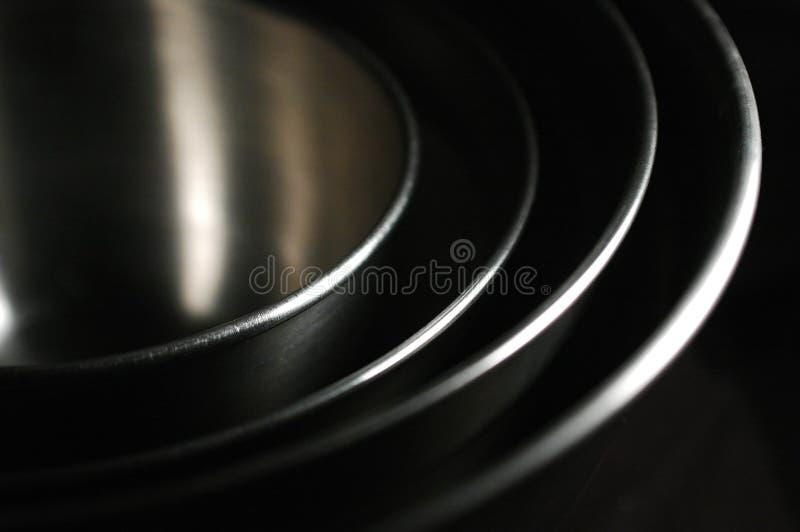 嵌套的碗 免版税图库摄影