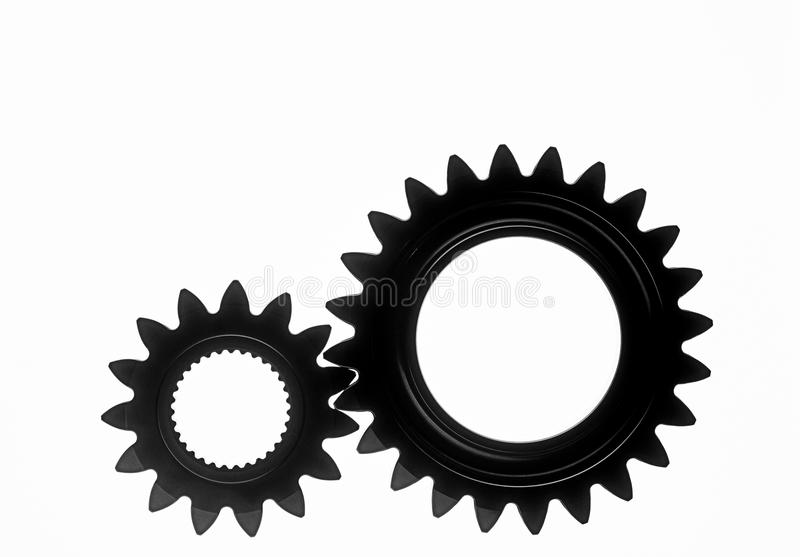 嵌齿轮轮子 免版税库存图片