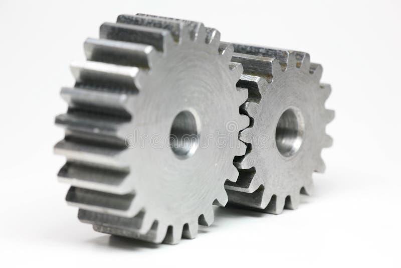 嵌齿轮轮子 免版税图库摄影