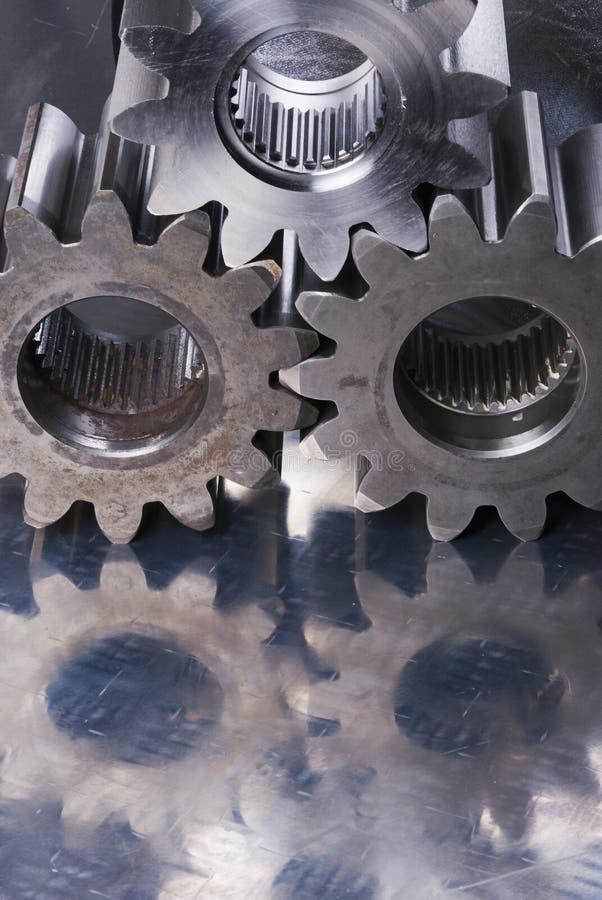 嵌齿轮适应想法tripple 库存图片