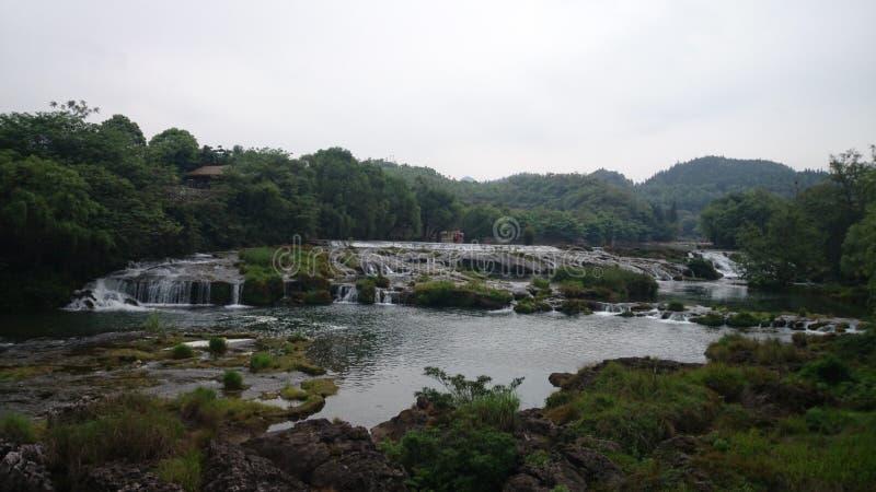 贵州瀑布 免版税库存图片