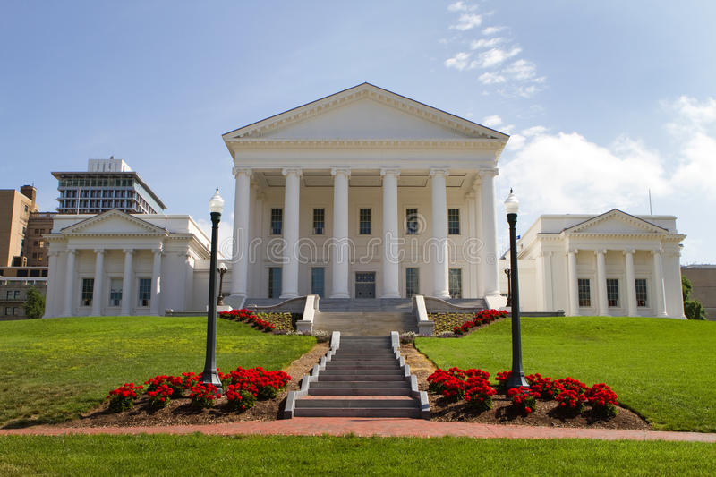 州议会议场弗吉尼亚 免版税图库摄影
