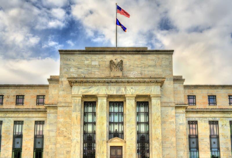 州长美国联邦储备委员会在华盛顿, D C 免版税库存照片