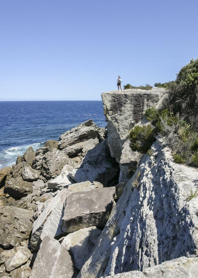 州长头在Booderee国家公园 NSW 澳洲 库存图片