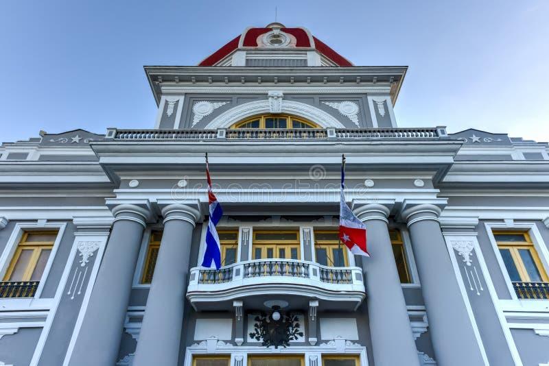 州长` s宫殿-西恩富戈斯,古巴 库存图片