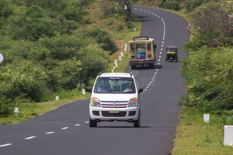 州际公路 免版税库存照片