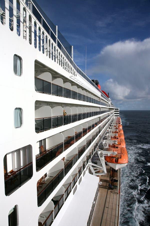 巡洋舰海洋 免版税库存照片