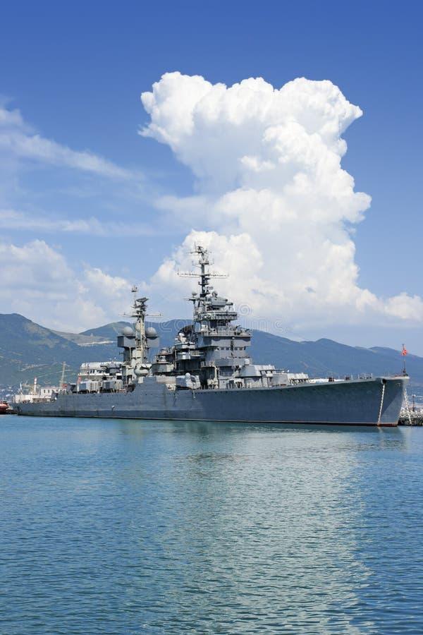 巡洋舰 免版税库存图片