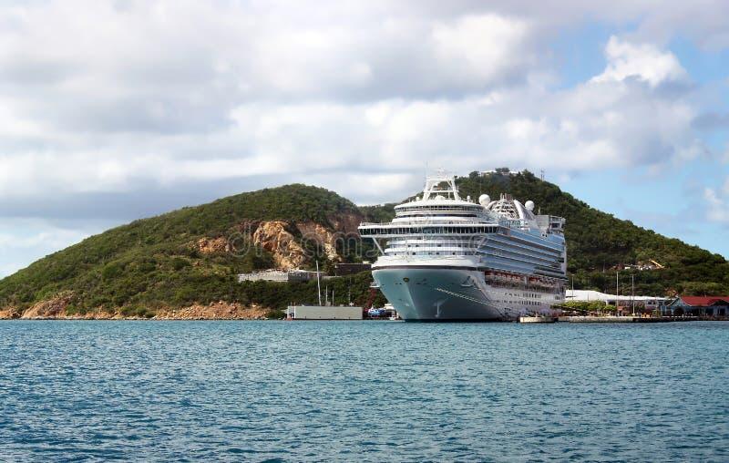 巡航热带假期 免版税库存图片