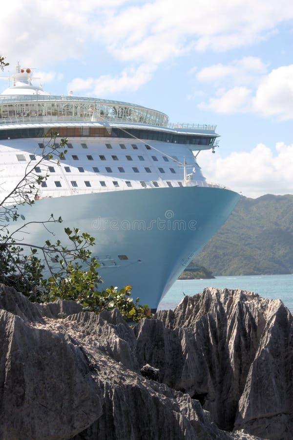 巡航绿洲海运船 库存照片