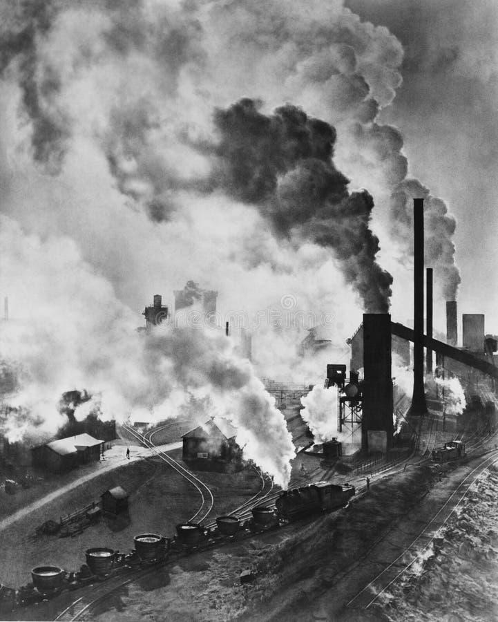 工业力量(所有人被描述不更长生存,并且庄园不存在 供应商保单将没有方式 免版税库存图片