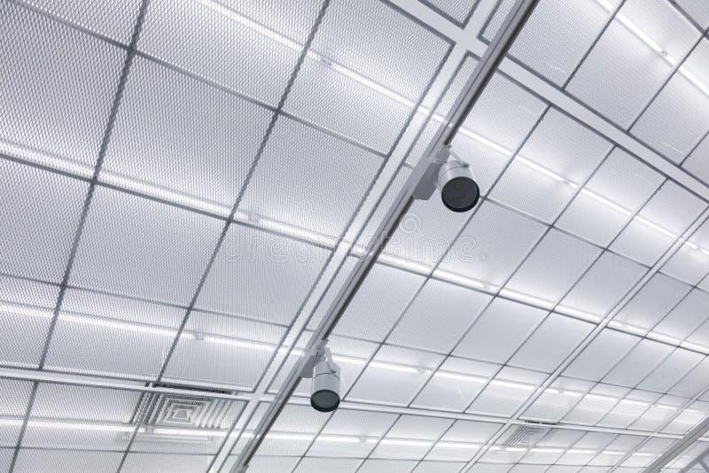 工业天花板 免版税库存照片